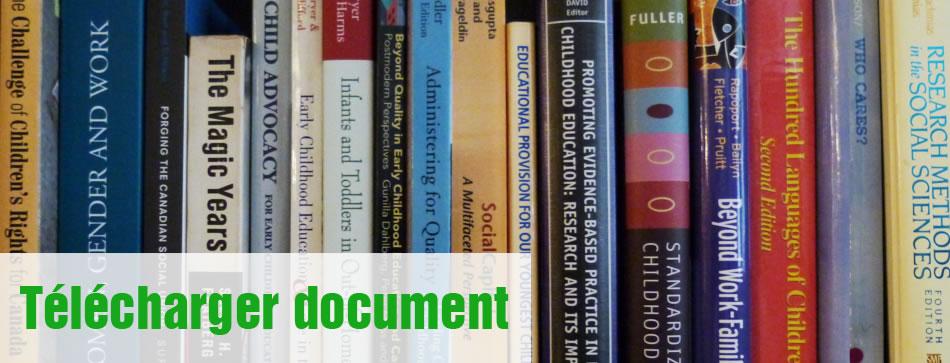 Téléchargez les documents